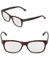 Gucci - 50mm Wayfarer Opticals - Lyst