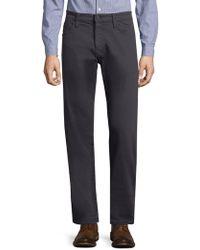Mavi Jeans - Zach Indigo Twill Straight-leg Trousers - Lyst