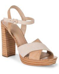 Pour La Victoire - Yasmin Suede Court Shoes - Lyst
