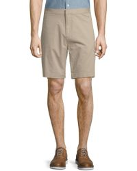 Saks Fifth Avenue - Stretch Cotton Chino Shorts - Lyst