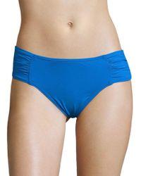 Tommy Bahama - Pearl Solids Shirred Hipster Bikini - Lyst