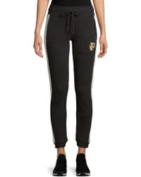 PUMA - Fitted Panel Joggers - Lyst
