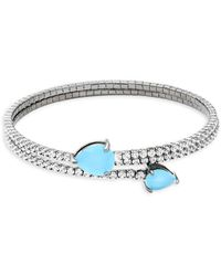 Saks Fifth Avenue - Crystal Bangle Bracelet - Lyst
