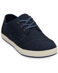 TOMS - Paseo Low Top Wool Sneakers - Lyst