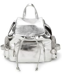 French Connection - Small Henley Metallic Backpack - Lyst