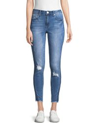 Seven7 - Ankle Skinny Jeans - Lyst
