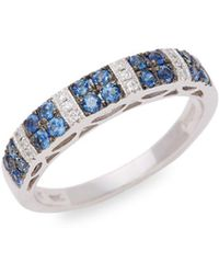Le Vian - 14k Vanilla Gold® Vanilla Diamonds® And Cornflower Ceylon Sapphiretm Ring - Lyst