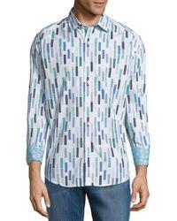 Robert Graham - Multicolour Rectangle Cotton Button-down Shirt - Lyst