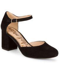 cc96685bf Sam Edelman - Clover Ankle-strap Pumps - Lyst