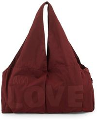 Peace Love World - Logo Gym Tote - Lyst