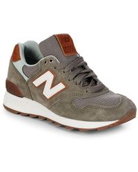 New Balance - Miusa Round Toe Lace-up Sneakers - Lyst