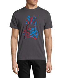 Psycho Bunny - Graphic Cotton Tee - Lyst