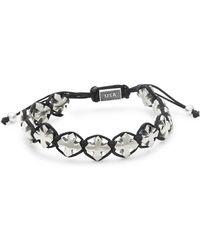 King Baby Studio - Sterling Silver Macrame Bracelet - Lyst