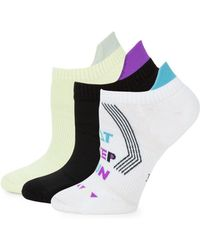 Hue - Three-pack Air Sleek Cushion Liner Socks - Lyst