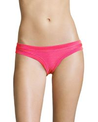 OndadeMar - Lush Ribbed Bikini Bottom - Lyst