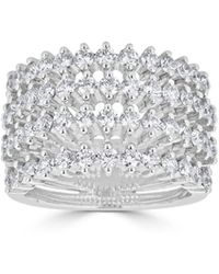 Saks Fifth Avenue - Ideal-cut Diamond And 14k White Gold Ring - Lyst