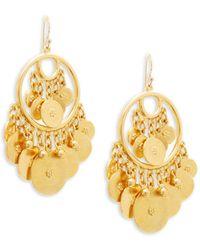 Ben-Amun - Multi-coin Drop Earrings - Lyst