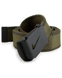 Nike - Knit Web Belt - Lyst