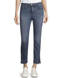 3x1 - Kink Zip-cuff Ankle Jeans - Lyst