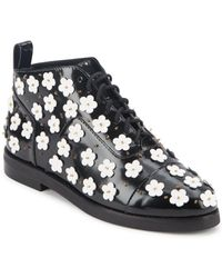 Isa Tapia - Winston Floral Ankle Boots - Lyst