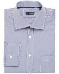 Breuer - Striped Dress Shirt - Lyst