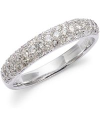 Effy - Diamond, 4k Gold And 14k White Gold Ring - Lyst