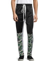 American Stitch - Graphic Drawstring Track Pants - Lyst