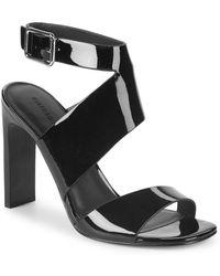Sigerson Morrison - Imala Patent Leather Sandals - Lyst