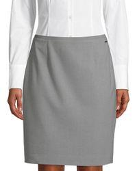 T Tahari - Bennet Pencil Skirt - Lyst