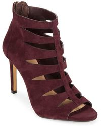 Saks Fifth Avenue - Florynce Leather Cutout Ankle Booties - Lyst