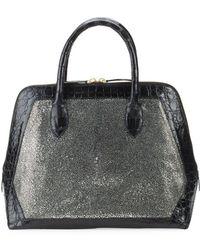 Nancy Gonzalez - Medium Leather Top Handle Bag - Lyst