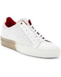 Bacco Bucci - Fredo Leather Low-top Sneakers - Lyst