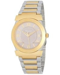 Ferragamo - Vega Stainless Steel Analog Watch - Lyst