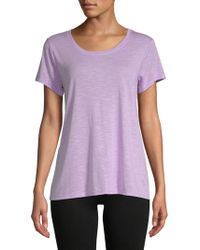 Balance Collection - Olive Hi-lo Tee - Lyst