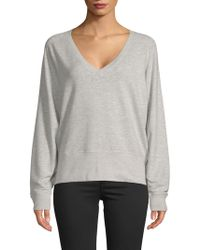 Rag & Bone - Solid V-neck Jumper - Lyst