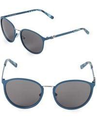 Diane von Furstenberg - 54mm Square Sunglasses - Lyst