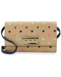 Zac Zac Posen - Earthette Polka Dot Chain Wallet - Lyst
