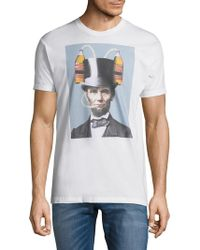 Riot Society - Abraham Lincoln Beer Hat Tee - Lyst