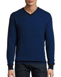 Bugatchi - Merino Wool Knit Pullover - Lyst