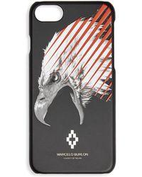 Marcelo Burlon Eagle Graphic Iphone 7 Case - Black