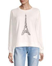 Karl Lagerfeld - Corded Eiffel Tower Sweater - Lyst