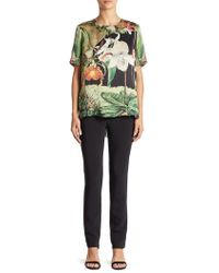 Adam Lippes - Pull-on Cigarette Trousers - Lyst