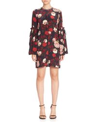 Mother Of Pearl - Curtis Silk Floral Romper - Lyst