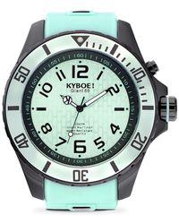 Kyboe - Black Series Stainless Steel Strap Watch - Lyst