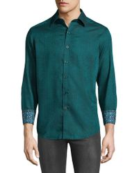Robert Graham - Niagara Cotton Casual Button-down Shirt - Lyst