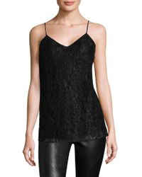Lafayette 148 New York - Beaded Lace Silk Camisole - Lyst
