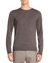 Strellson - Milton Virgin Wool Sweater - Lyst