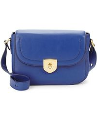 Cole Haan - Marli Mini Leather Saddle Bag - Lyst