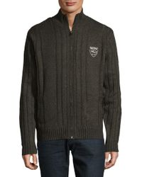 Buffalo David Bitton - Wakiem Long Sleeve Sweater - Lyst