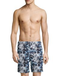 North Sails - Printed Swim Shorts - Lyst